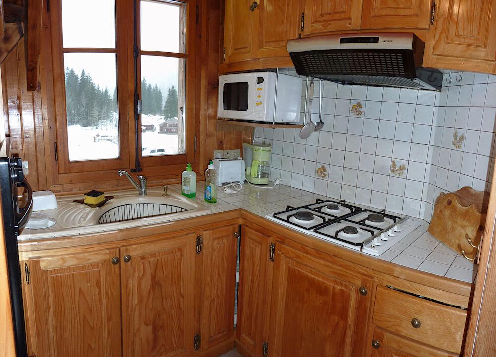 Cuisine montagne chalet for Cuisine montagne
