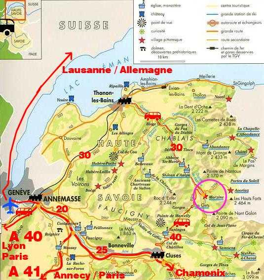 Ou Se Trouve Geneve Sur La Carte De France | My blog